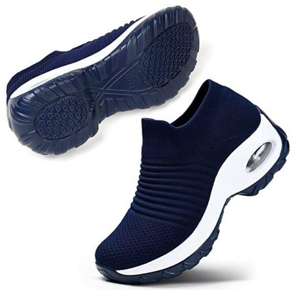 STQ Slip On Breathe Mesh Walking Shoes