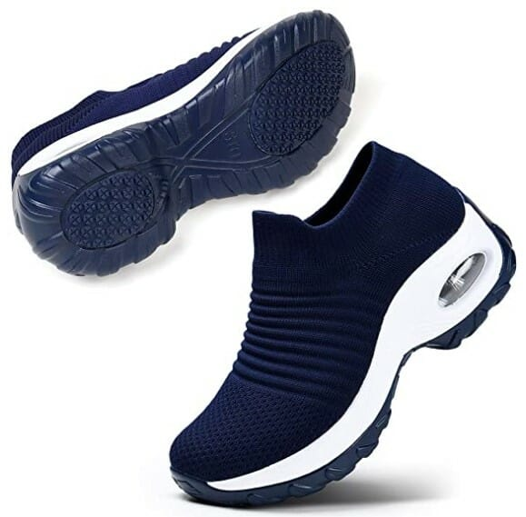 STQ Slip On Breathe Mesh Walking Shoes Women