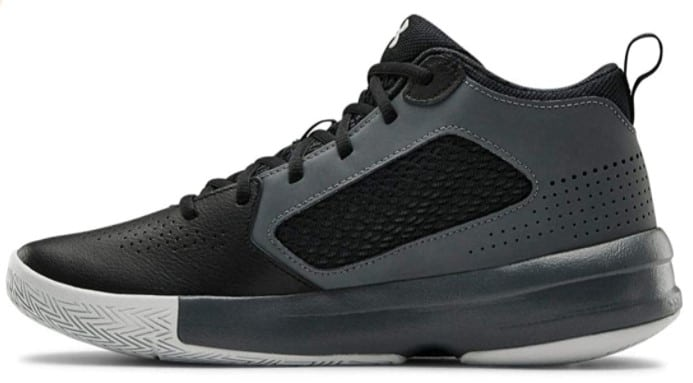 Under Armour Men's Lockdown 5 Basketball Shoe, Black