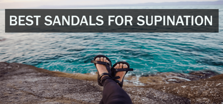 Best sandals for supination