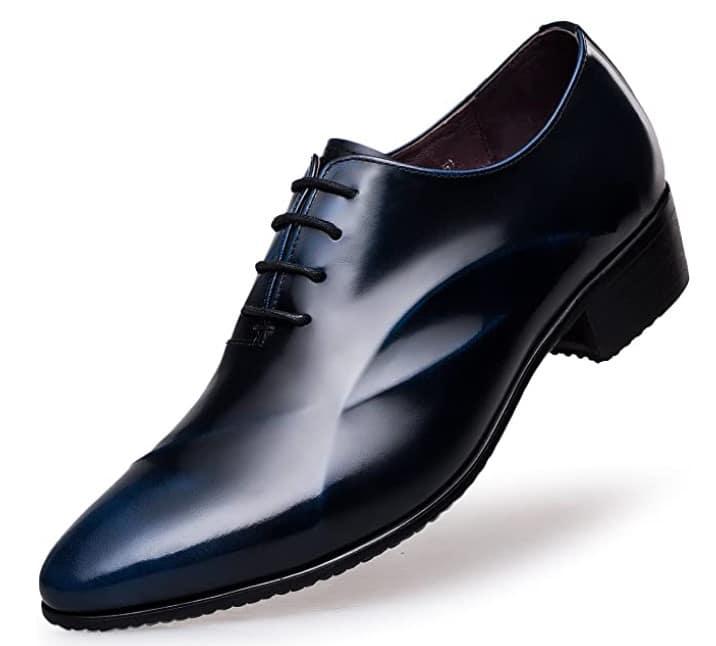 ZRO Men's Lace Up Formal Modern Oxford Dress Shoes